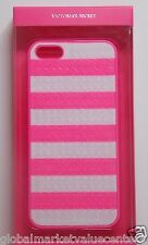 Sexy Victoria's Secret Hot Pink & White Stripes case iPhone 4 / 4 s Models Cover