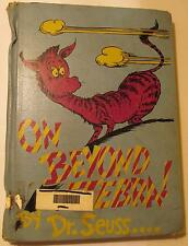 Dr Seuss On Beyond Zebra! - Library Book 1955, Unusual Cover