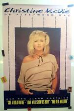 "Christine McVie Of Fleetwood Mac_Original, Rare, 1984 Promo Poster_24"" x 36"""