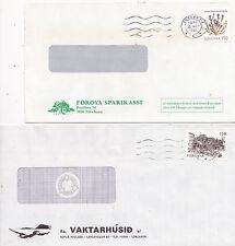 ILES FEROE 10 lettres correspondance commerciale