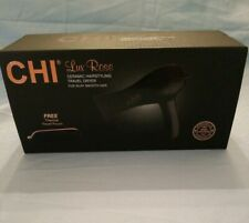 NIB CHI Lux Rose Ceramic Hair Travel Dryer With Travel pouch