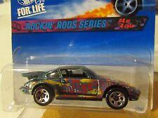 Hot Wheels Porsche 930 Rockin' Rods Series Green 5sp