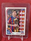Lionel Messi Barcelona Official 2012/13 Trophy List Panini Sticker