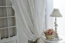 Van Deurs Gardine Ruby Pure White 200 x 250 Landhaus Shabby Chic Vintage