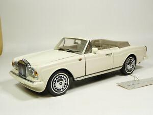 Franklin Mint 1/24 1992 Rolls-Royce Corniche IV Diecast Metal Model Car