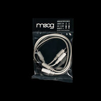 "Moog Mother-32 Eurorack Analog Synthesizer 1/8"" TS Patch Cable 5-pack 12"""