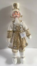 Katherine's Collection Royal White Nutcracker Doll 10� Christmas