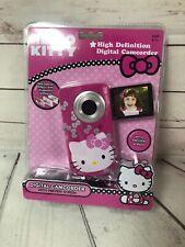 Hello Kitty Digital Video Recorder Camera Camcorder 38009 Kids Girls Real New