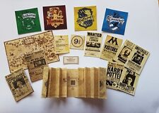 HARRY POTTER themed 1:12th scale Marauders map daily prophet dolls house DH37