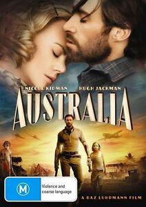 Australia DVD Brand New & Sealed Nicole Kidman Hugh Jackman