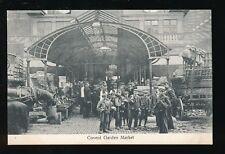 London COVENT GARDEN Market nice workers children social history c1900s? PPC