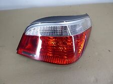 BMW E60 OEM REAR RIGHT PASSENGER SIDE TAILLIGHT TAIL LIGHT IN PANEL CLEAR TURN