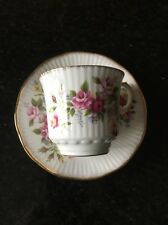 Rosina Queens Fine Bone China Teacup And Saucer Flower Pattern