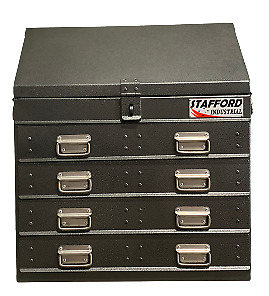 Stafford Industrial Four Drawers Angled Ute Box