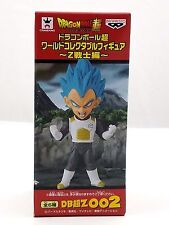 "Banpresto Dragonball Z-Warriors SSG Vegeta 002 WCF 2.5"" tall DBZ New Dragon Ball"