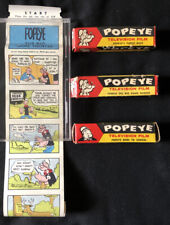 1957 Popeye Television Films 3 Different King Features A Lido Toy Co