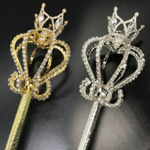 1pc Bride Seamless Scepter Wands Durable Queen Princess Wand Women Wedding Acces