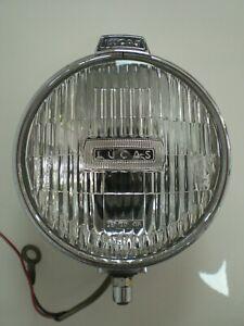 Vintage Lucas FT6 Chrome Fog Lamp Spot Light Classic Car