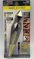 Wet n Wild Lash Renegade (C145a) Brazen Black Carded 0.8 oz - New