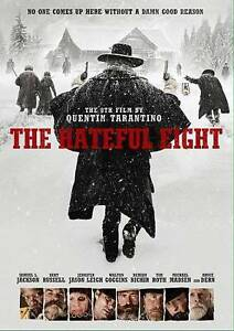 The Hateful Eight DVD, NEW!!!FREE  SHIPPING !!