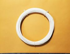 18 Awg Mil Spec Wire Ptfe Insulated Stranded Silver Plated Copper White 25 Ft