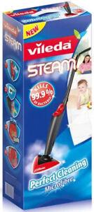 Vileda Dampfreiniger Steam reinigt streifenfrei ohne Chemikalien 1550 Watt