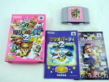 Complete Japanese Mario Party 2 Nintendo 64 Japan Import N64 JP US Seller B