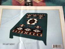 Indian Southwest Design King Size Blanket Bedspread Mint