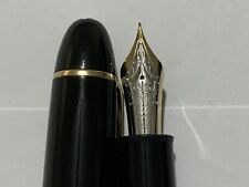 Montblanc 149 Fountain Pen 1990s Two Tone 18K Extra Fine NIB! Look, Look!!