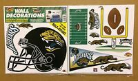 Jacksonville Jaguars NFL Football self-stick WALL DECORATIONS by Color Clings