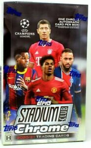 2020-21 Stadium Club Chrome UEFA  Insert Cards You Pick Complete Your Set!!!
