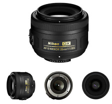 New Nikon 35mm f/1.8G AF-S DX Lens for Nikon Digital SLR Cameras