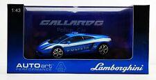AUTOART LAMBORGHINI GALLARDO POLIZIA 1/43