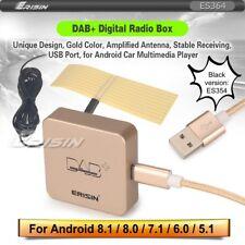 Erisin DAB+ Box Aerial Digital Radio Amplified Android 6.0 7.1 8.0 8.1Gold ES354