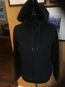Lululemon Fleece Be True Hoodie Jacket Black 6 8 10 12 $128 NWT