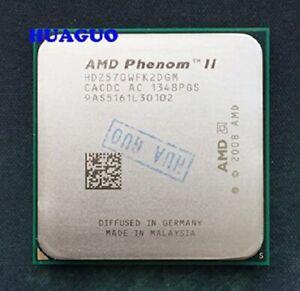 AMD Phenom II x2 570 BE Black Edition dual-core unlocked CPU 3.5 GHz AM3 HDZ570W