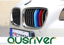 Car Auto Sport M3D Kidney Grill 3 Color Cover Strip Cap Clip Tech  For BMW X3 X4