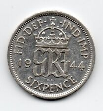 Great Britain - Engeland - 6 Pence 1944