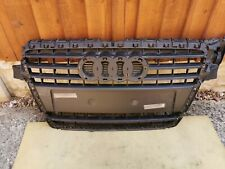 Audi A4 B8 Front grill badge panel trim 8K0853651 damage