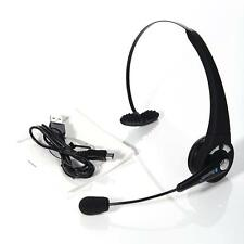 Best Wireless Headwearing Chatting Bluetooth Headset with Mic for PS3/PC ER