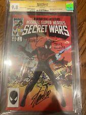Secret Wars 1 Miles Morales CGC 9.8 4x SS Stan Lee, Zeck, Beatty & Shooter