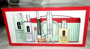 NEW BEST OF CLINIQUE SET 7 FULL SIZE ITEMS $234.50 VALUE LOTION,SERUM,MASCARA+++