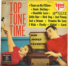 """DIVERS """"TOP TUNE TIME"""" ROCK AND ROLL DOUBLE 50'S EP PROMENADE A-55-1/2"""