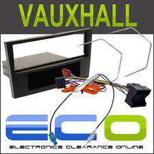 FP-19-01 Vauxhall Astra H 04-09 stereo auto radio Facia FASCIA Kit di montaggio Nero