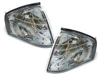 Clear chrome Finish indicator set turn signal light for Mercedes SL R129 89-01