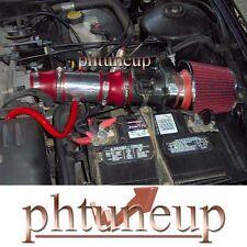 RED 1998-2002 MERCURY COUGAR MYSTIGUE 2.5 2.5L V6 AIR INTAKE KIT + RED FILTER