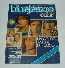 fotoromanzo BLUE JEANS n 21 ( 1978 ) con FRANCIOLI RUGGERI FRANCESE MARINA
