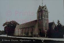 """PRINT 10"""" X 7""""  ST JOHNS CHURCH MORTIMER c1910"""