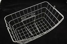 NEW RALEIGH CAPRICE SILVER WIRE FRONT BASKET ALSO SUIT SHOPPERS, DUTCH BIKES ETC