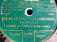78 trs-rpm-FERNANDEL ET RIANDRES- POLYDOR 522025
